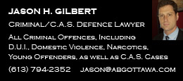 Jason Gilbert - Criminal/C.A.S. Defence Lawyer
